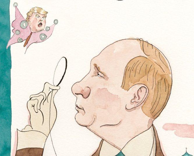 """На обкладинці The New Yorker з'являться Путін та Трамп-""""метелик"""""""