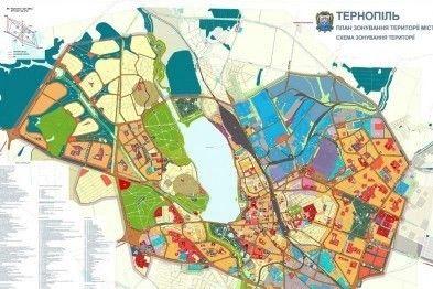 Тернопільська міська рада не затвердила зміни до Генплану міста