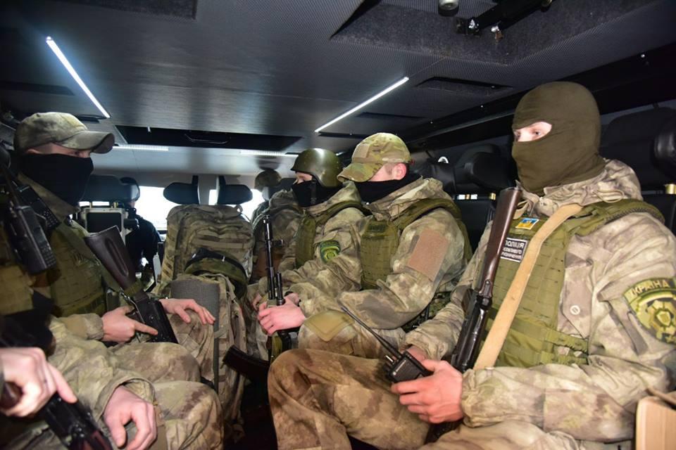 До Авдеевки прибыл КОРД / Facebook / Вячеслав Аброськин