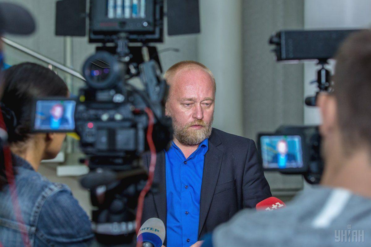 Рубан находится в суде / фото УНИАН