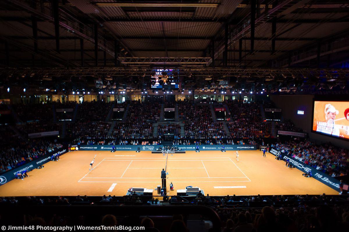 Арена в Штуттгарті вміщує майже 5 тисяч глядачів / btu.org.ua