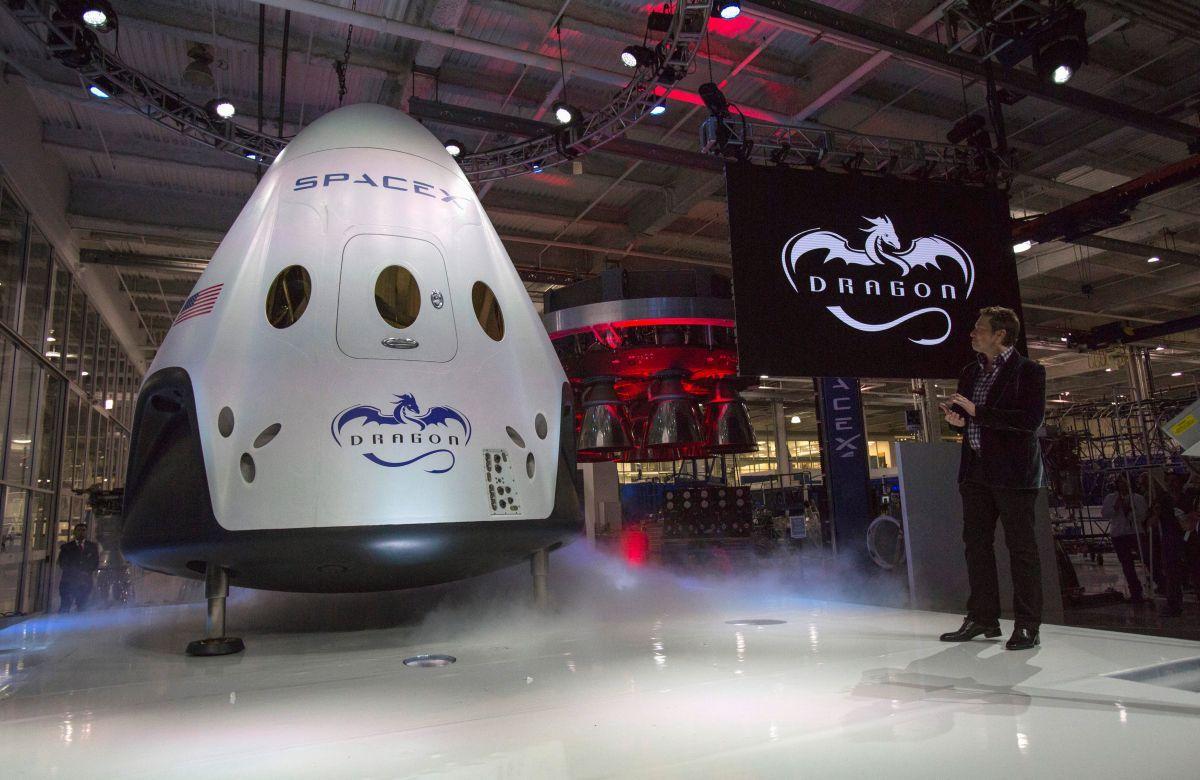 Космічний корабель Dragon / REUTERS
