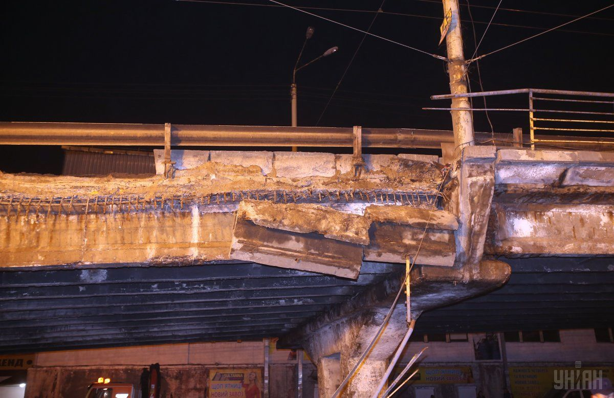 Даже в столице большая половина мостов «сильно устала» / фото УНИАН