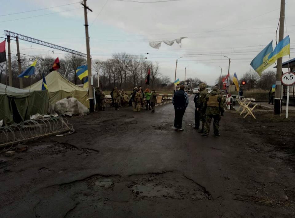 Активисты планируют установить редут в Харьковской области / Vyacheslav Abroskin, Facebook