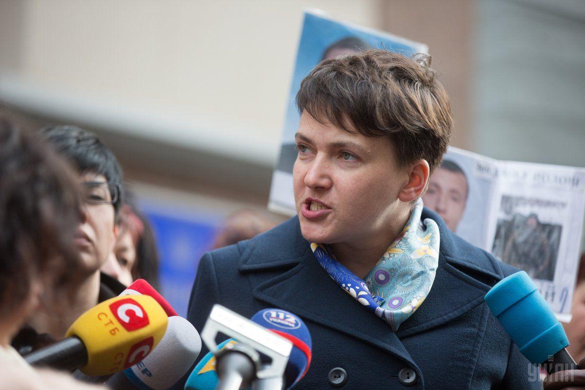 Надопрос непридет. pr-служба Надежды Савченко обнародовала еефото вСтрасбурге