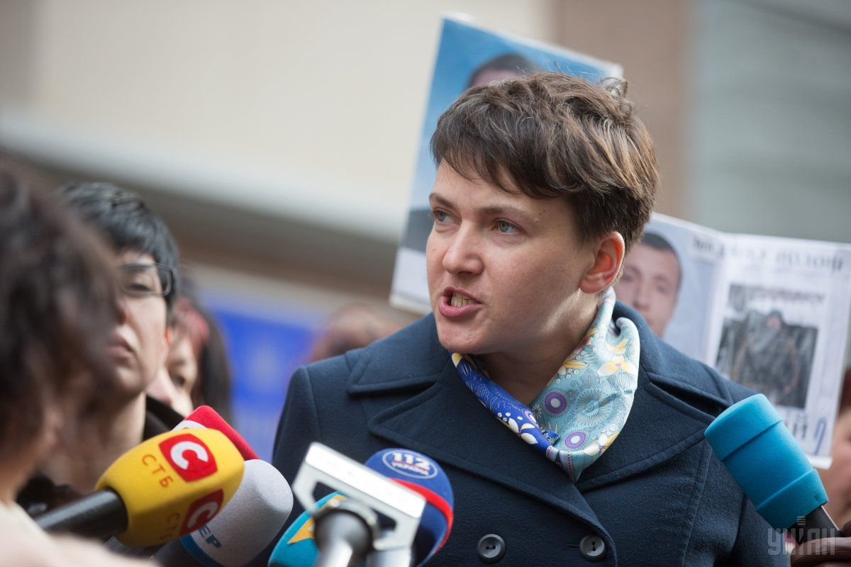 Савченко вызвали на допрос в СБУ / фото УНИАН