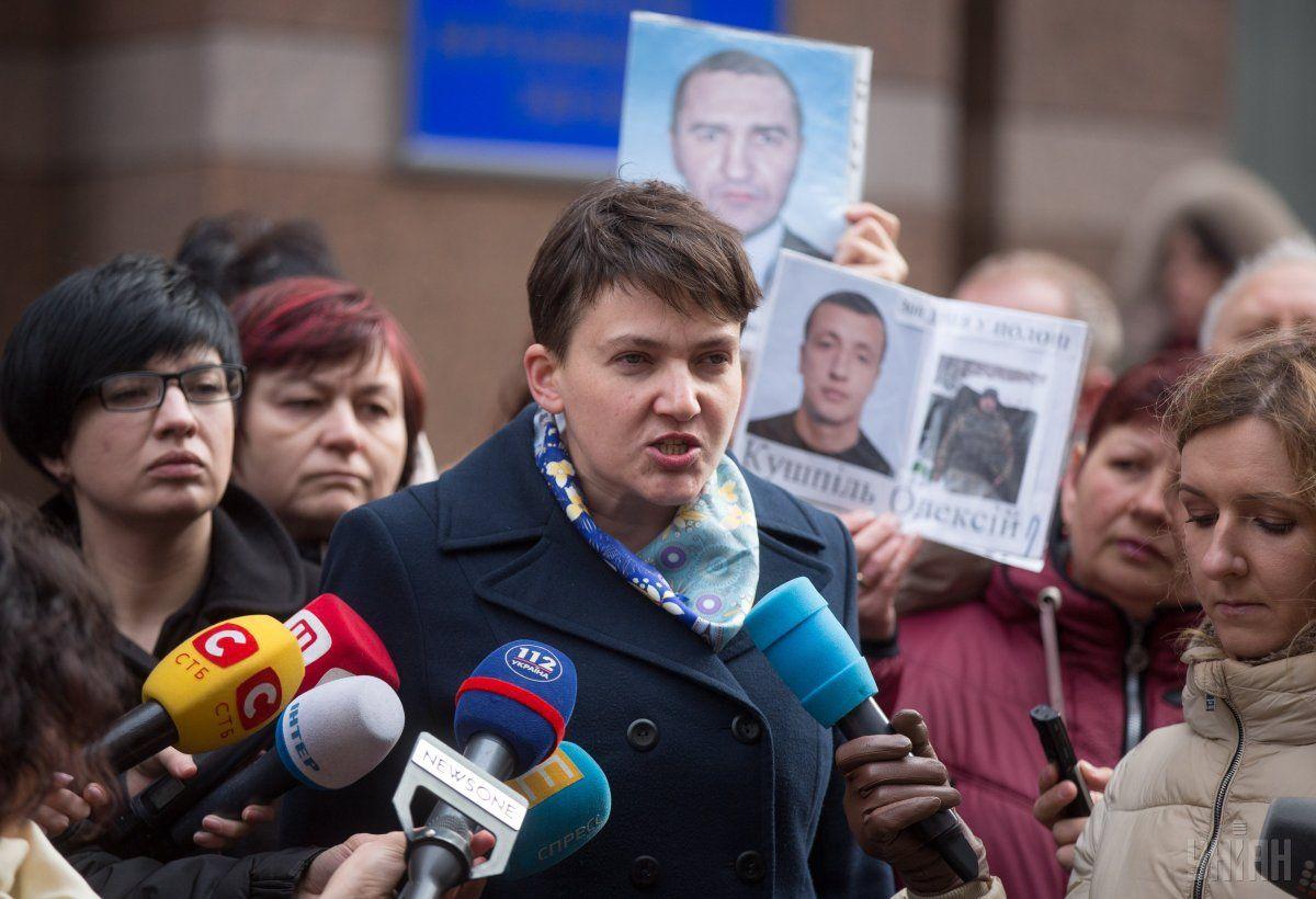 За версією слідства, Надія Савченко мала виступити не лише організатором, а й безпосереднім виконавцем терактів / УНІАН