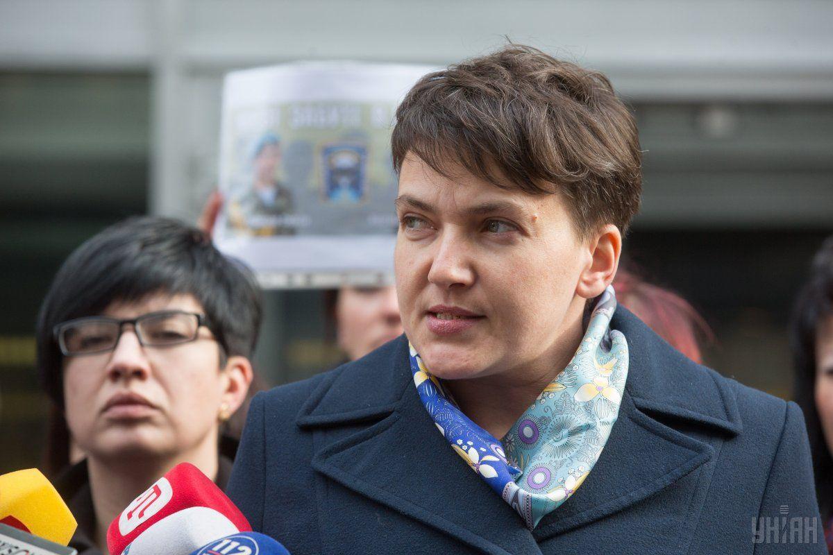 Савченко заявила, що хоче взяти Рубана на поруки / фото УНІАН