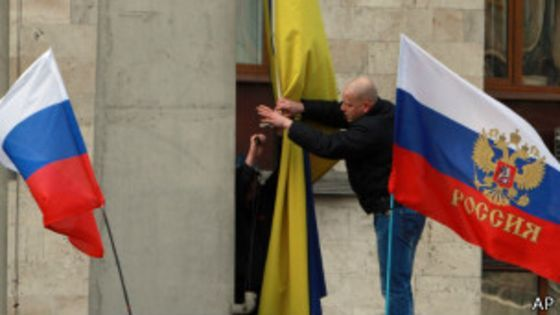 April 6, Kharkiv Regional State Administration was invaded for the second time / bbci.co.uk