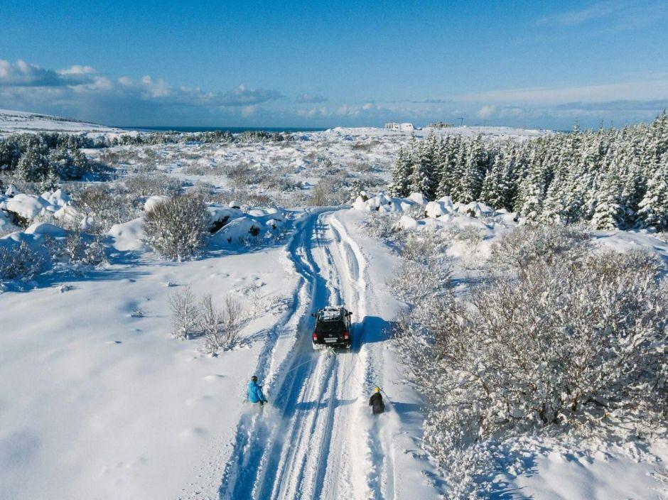 Сніг в Ісландії / Heidmork за Хокан Бродер Лунд