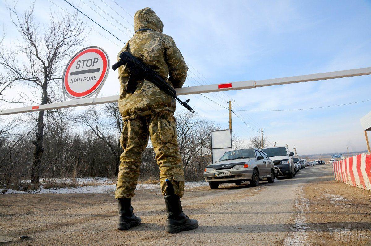 Автобус с гражданскими подорвался на Донбассе / фото УНИАН