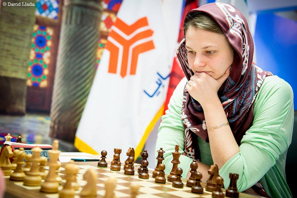 Anna Muzychuk / Photo from tehran2017.fide.com