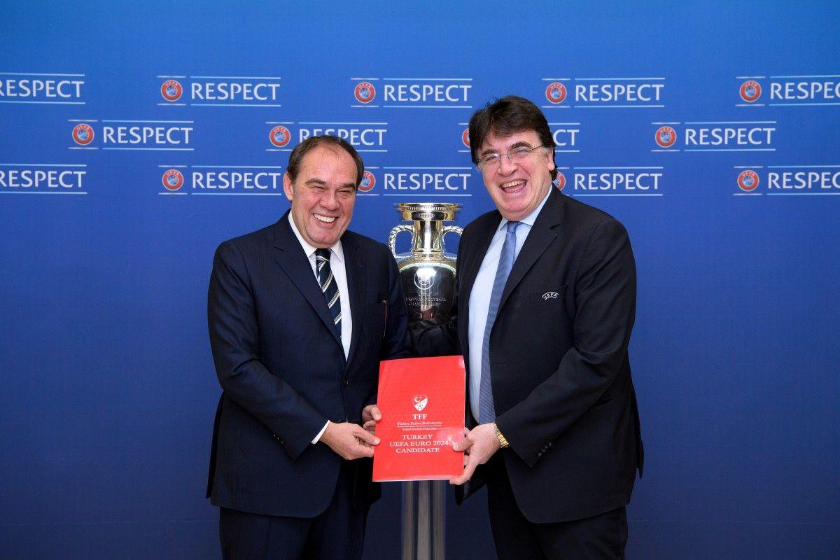 Туреччина офіційно включилася в гонку на право проведення Євро-2024 / tff.org