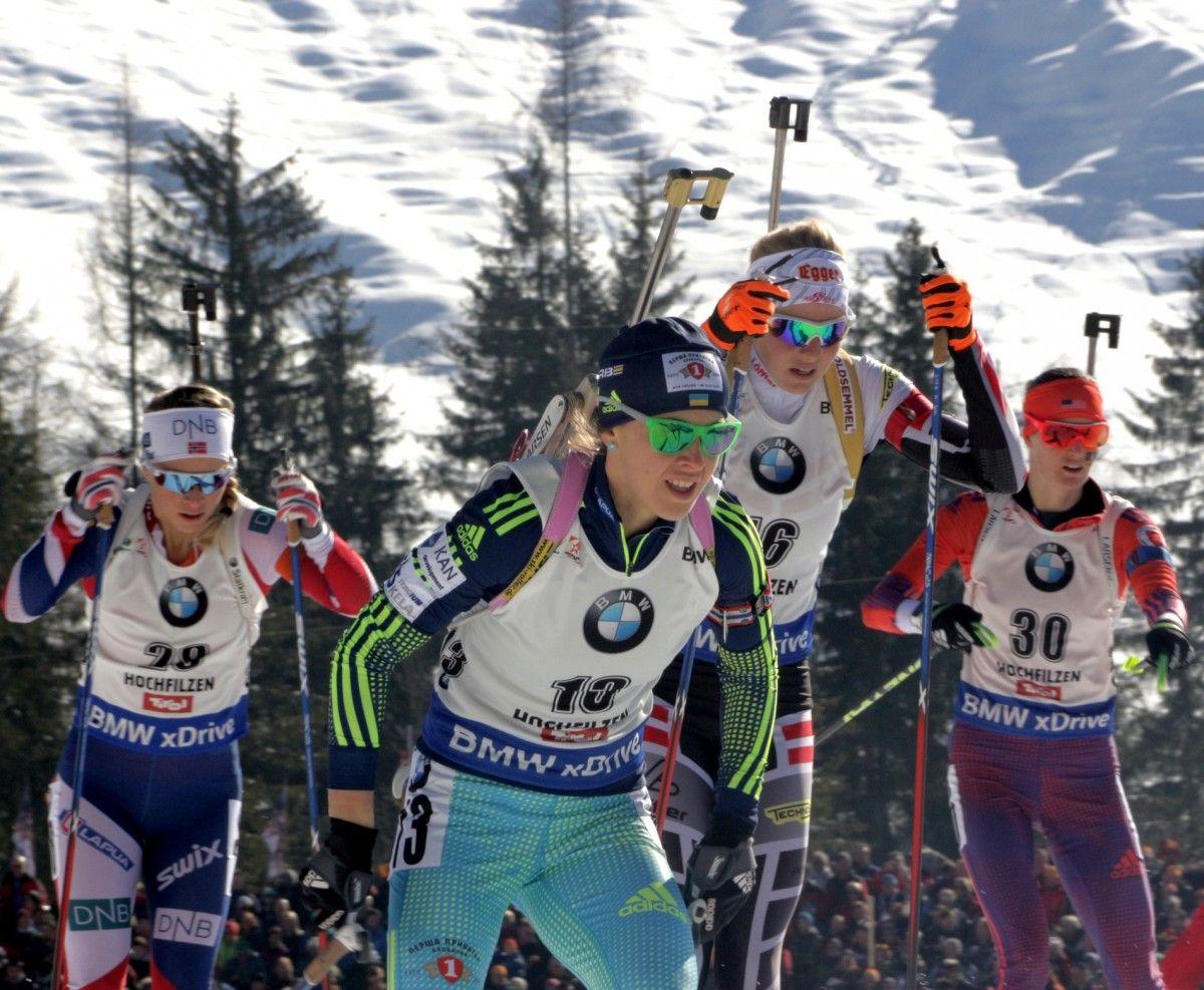 Юлия Джима заняла 7-е место в масс-старте / biathlon.com.ua