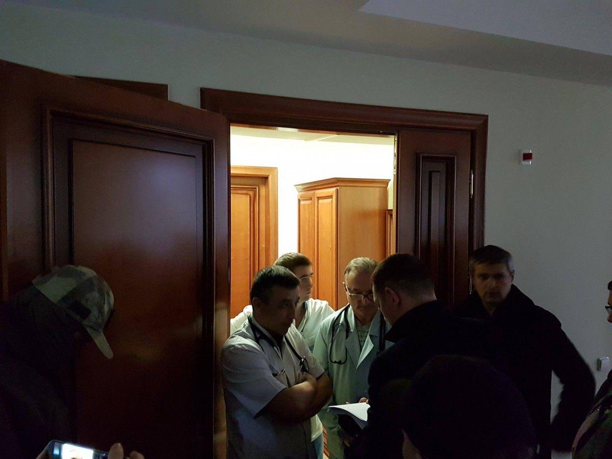 В ночь на 3 марта детективы НАБУ штурмовали клинику
