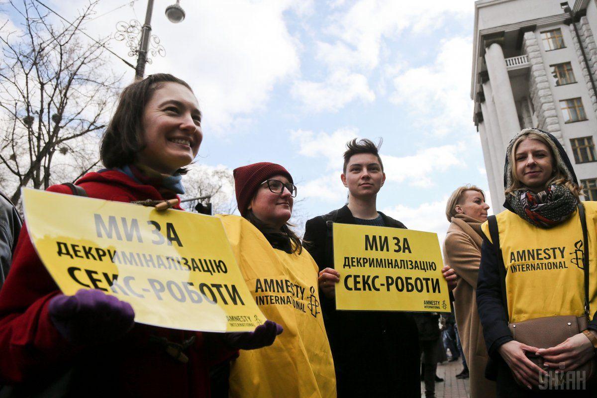 Законодательном уровне вопрос урегулирования секс-труда поднимался в Украине в 2015 году / Фото УНИАН