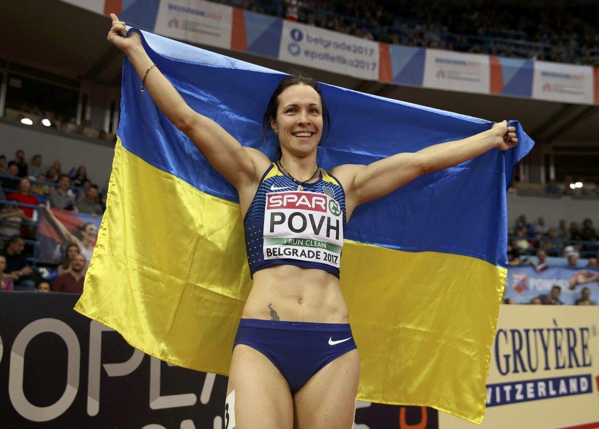 Повх признана лучшей легкоатлеткой Украины / Reuters