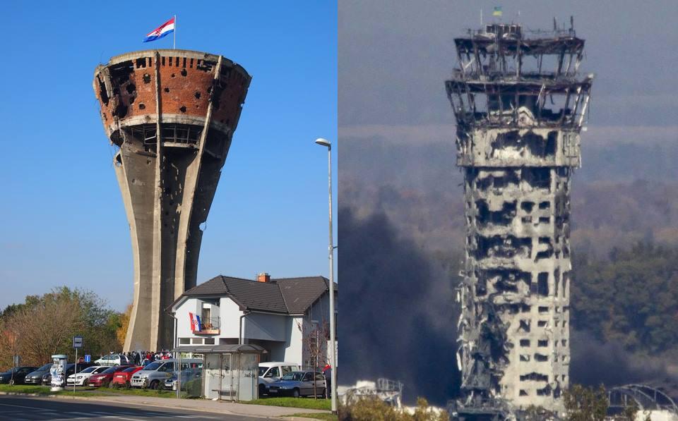 Війна на Балканах в 90-х роках і події останніх років в Україні - дуже схожі / facebook.com/ukrultras