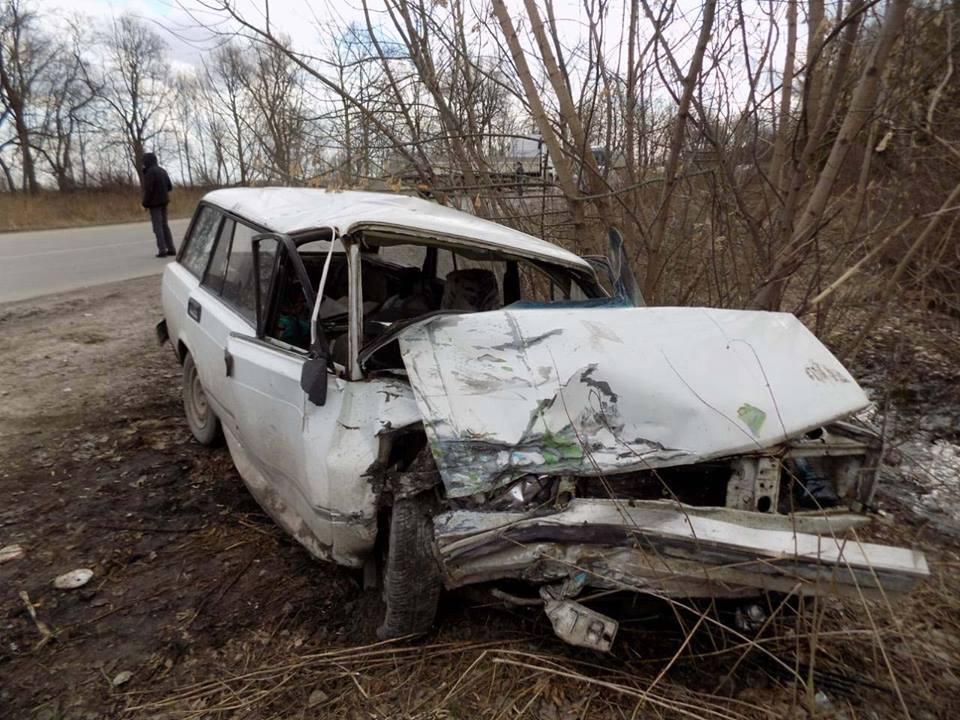Аварія сталася на трасі Доманове - Ковель - Чернівці / ГУ НП в Тернопільській області
