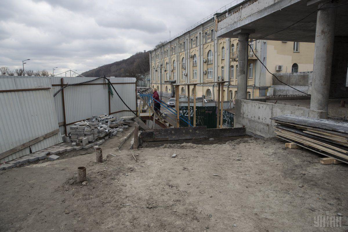Экскурсии в места раскопок временно приостановлены из-за аварии \ УНИАН