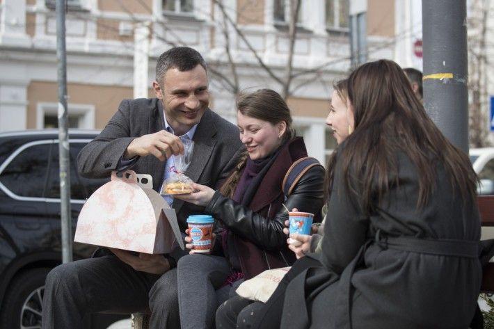 Кличко поздравил женщин с 8 Марта / kievcity.gov.ua