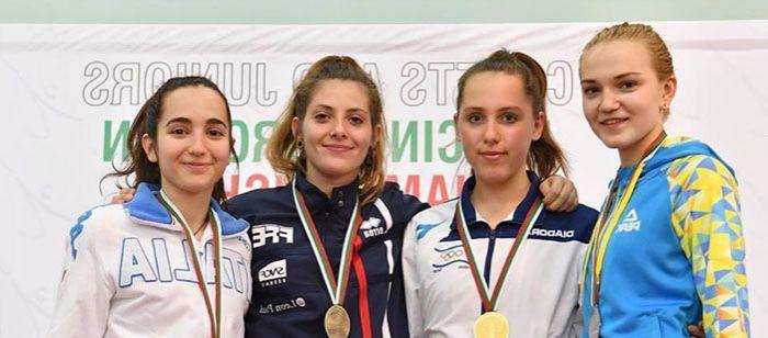 Украинская шпажистка Бровко выиграла серебро чемпионата Европы / nffu.org.ua