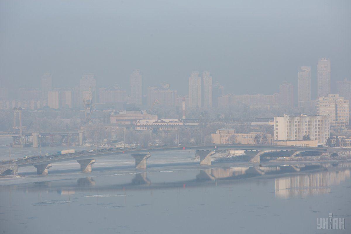 Туман в Києві / УНІАН