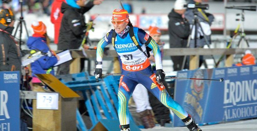 Вита Семеренко заняла 9-е место в спринте / biathlon.com.ua