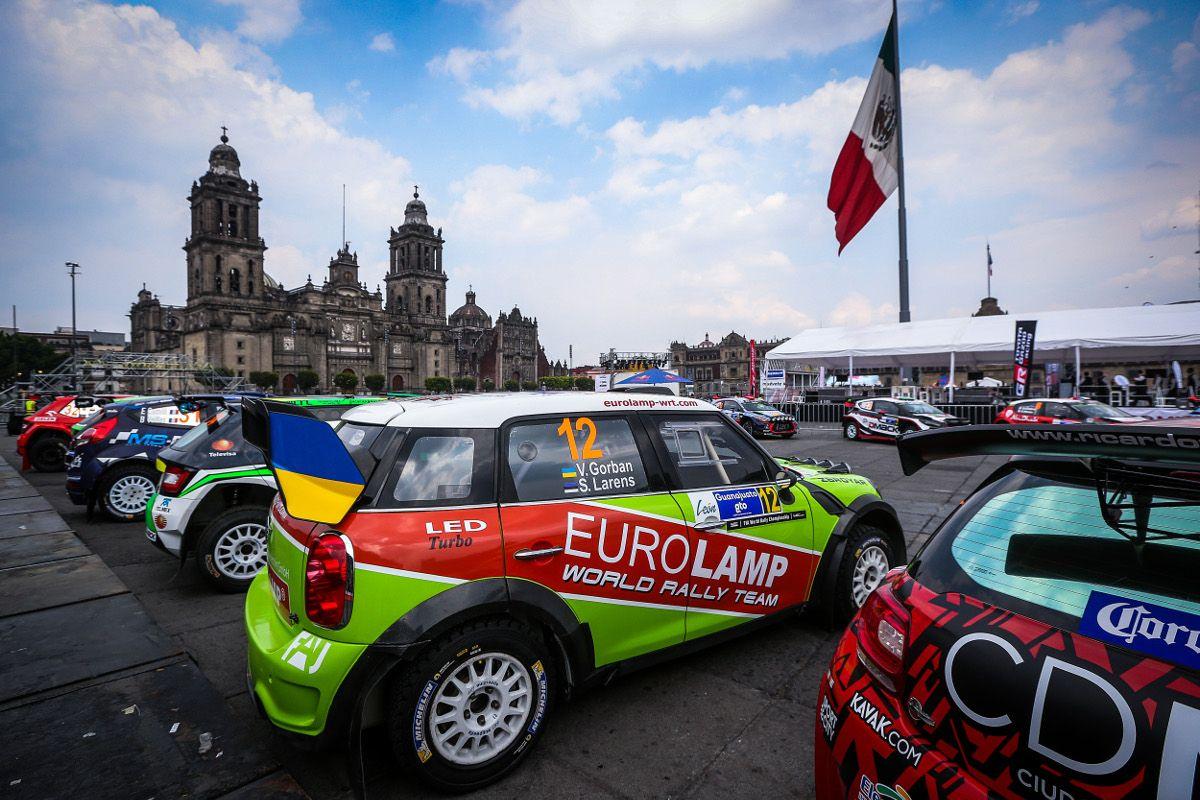 Горбань занял 16-е место на первом этапе Ралли Мексика / eurolamp-wrt.com