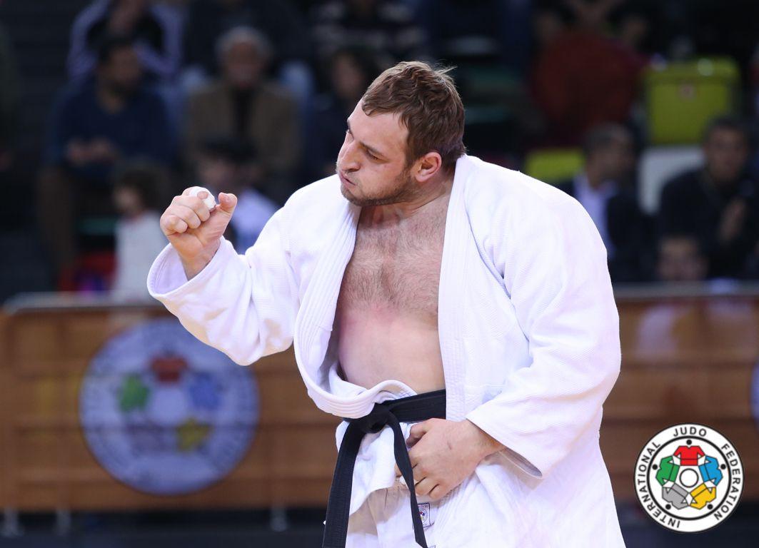 Бондаренко завоевал серебро в тяжелой весовой категории / International Judo Federation