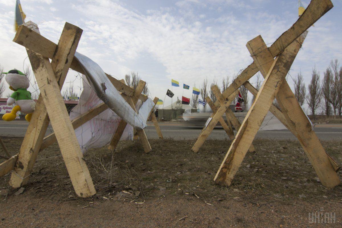У своєму зверненні депутатський корпус висловив стурбованість фактом силового розгону учасників блокади  / Фото УНІАН