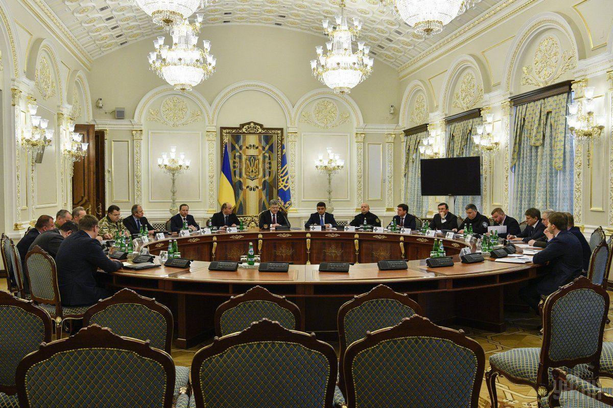 СНБО синхронизирует новые украинские санкции против РФ, связанные с химической атакой в Солсбери и незаконными выборами в оккупированном Крыму / фото УНИАН