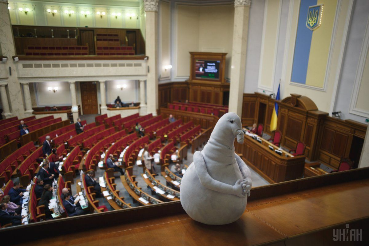 """Парубій каже, що не виправдовує депутатів, а лише вказує на """"закономірну річ"""" / Фото УНІАН"""
