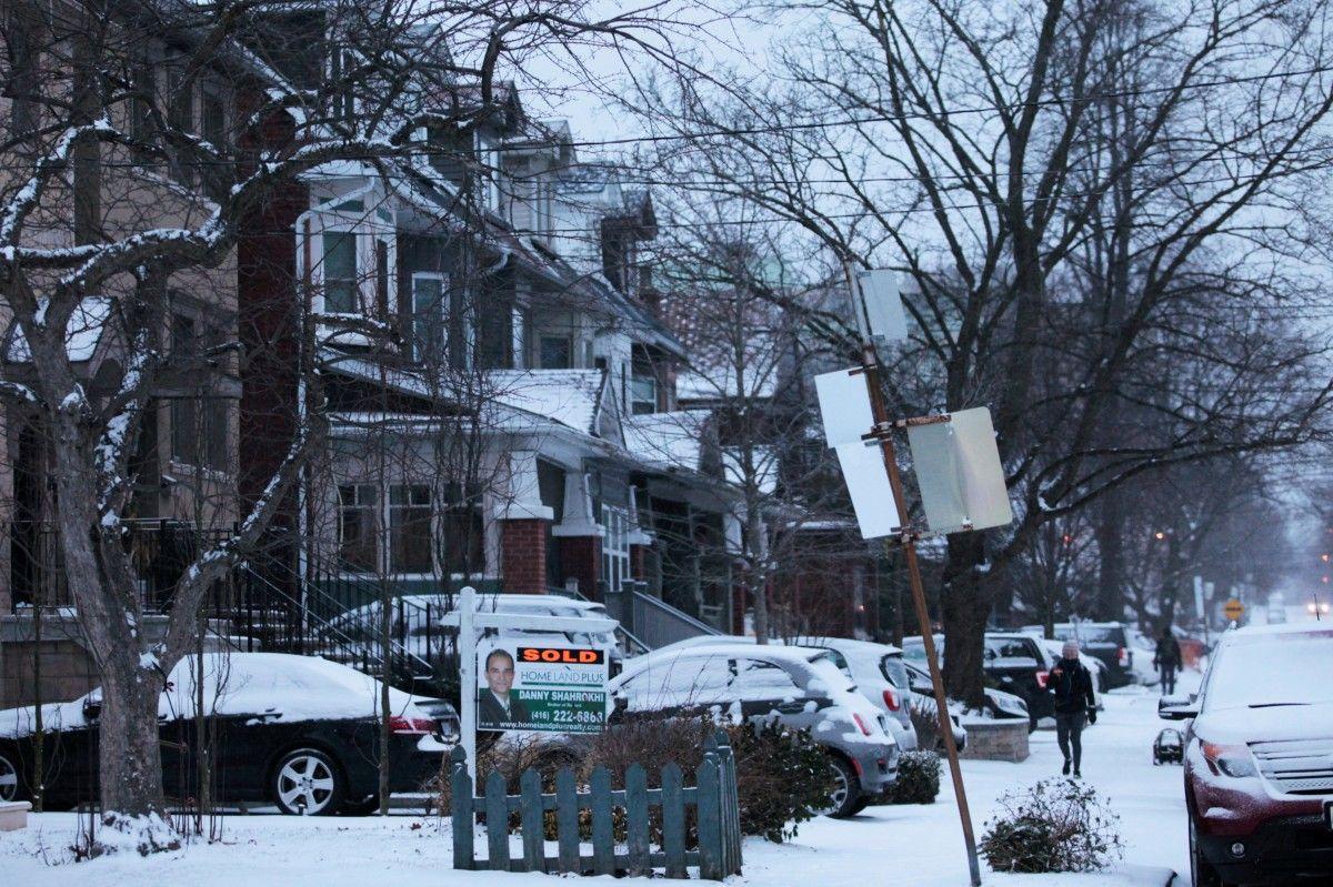 Снігопад в Канаді / Reuters