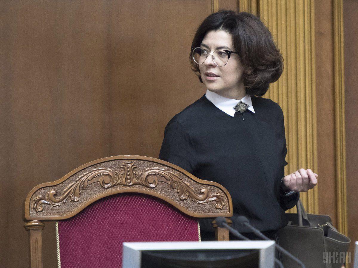 Сыроидвысказалась о новой коалиции / фото УНИАН