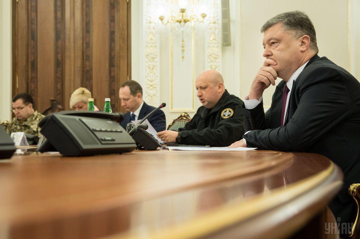 Порошенко: Украина потеряла свои предприятия / Фото УНИАН