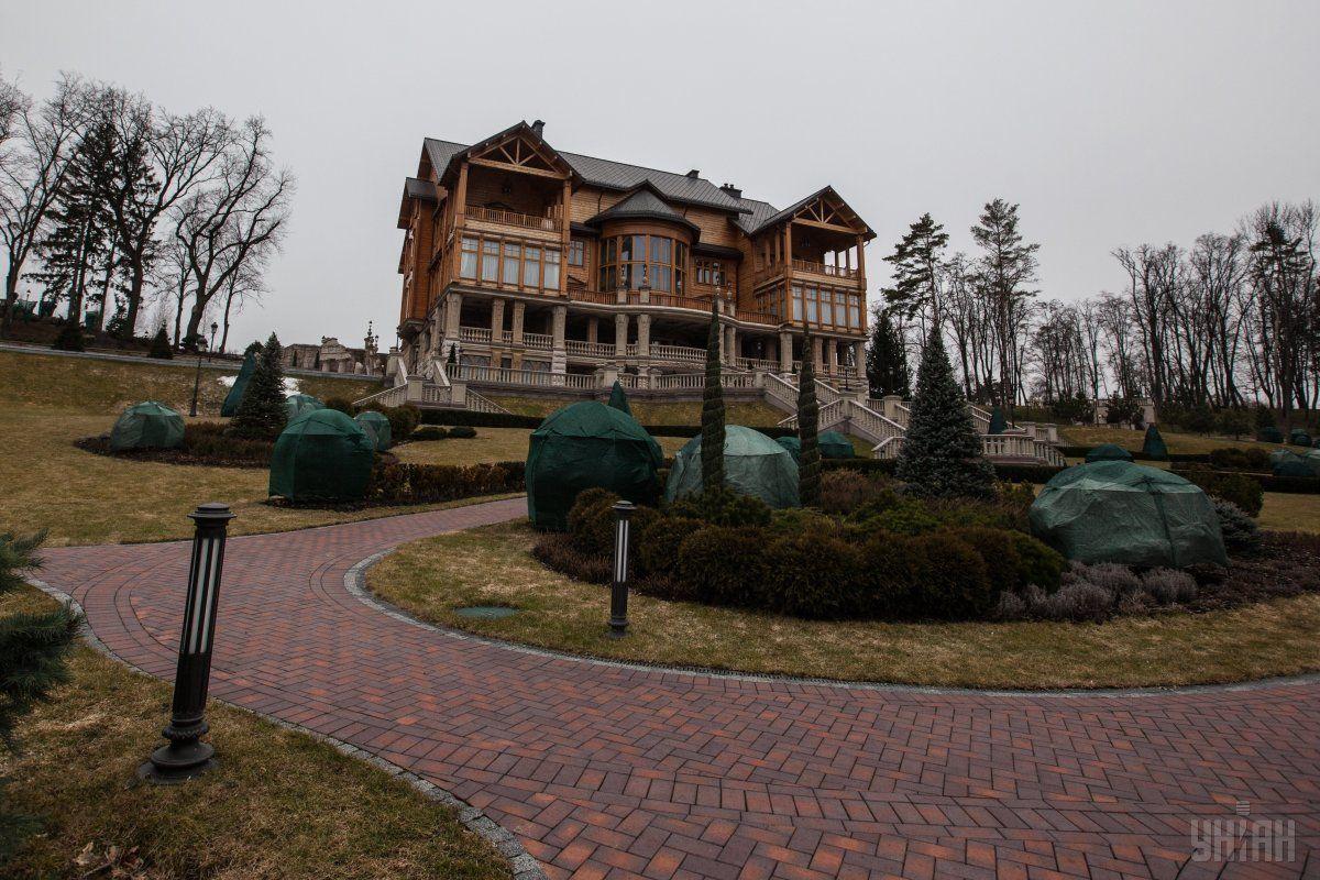 Охрана бывшей резиденции Януковича приведена в усиленный режим патрулирования / фото УНИАН