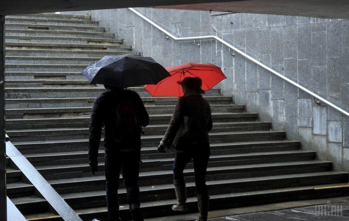 У Києві сьогодні пройде дощ / Фото УНІАН