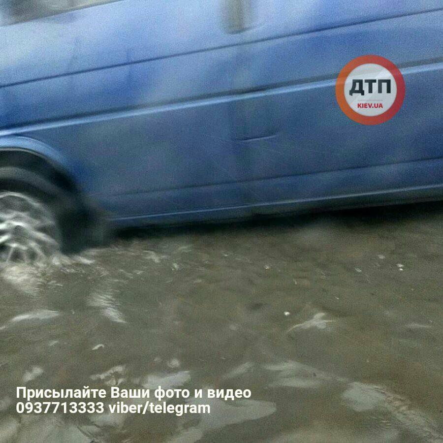 Дорогу знову затопило / dtp.kiev.ua