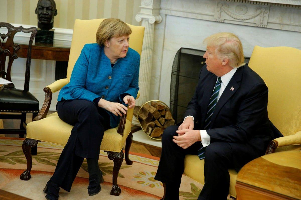 Ангела Меркель та Дональд Трамп / REUTERS