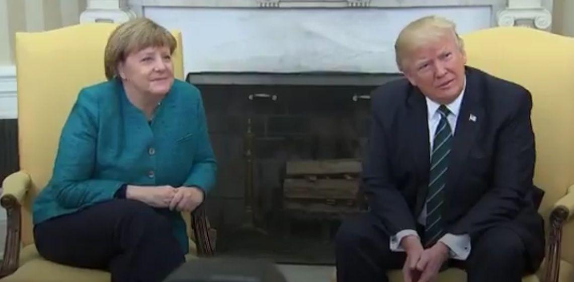 Трамп проігнорував заклики журналістів / Скріншот