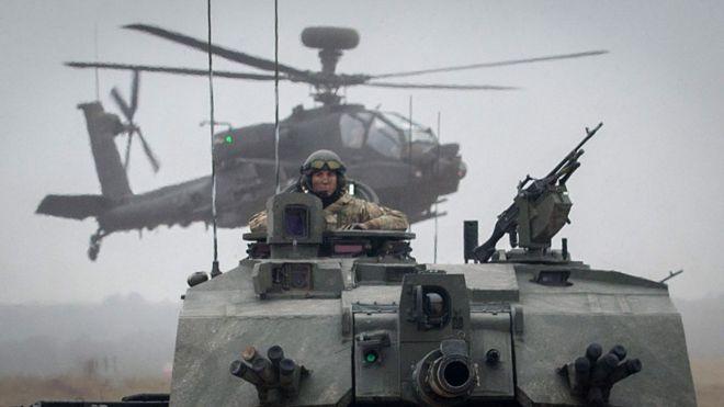 НАТО разместил свои батальоны в странах Балтии из-за милитаризации России в регионе / фото Getty Images