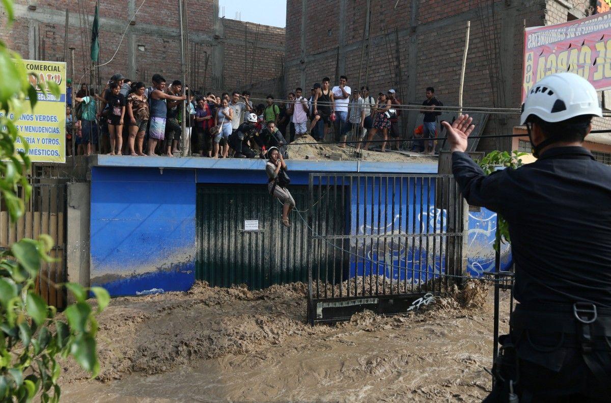 Повені в Перу / REUTERS