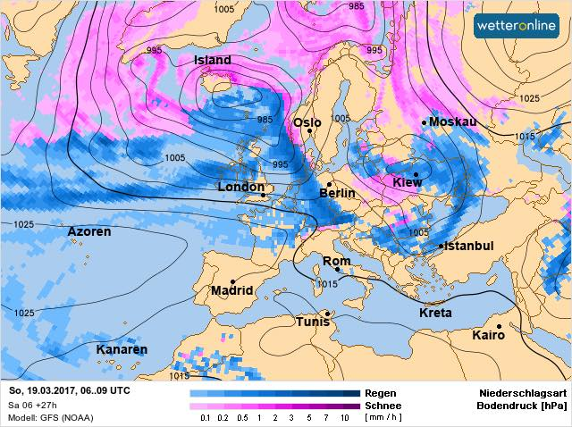 До України прийшов циклон / facebook.com/tala.didenko