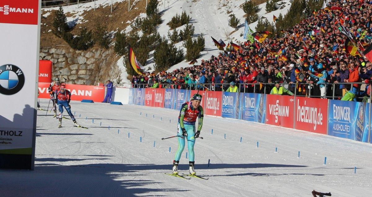 Джима завершила сезон в 10-ці найсильніших мас-старту / biathlon.com.ua