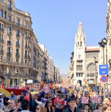 Протесты в Барселоне / @societatcc_int