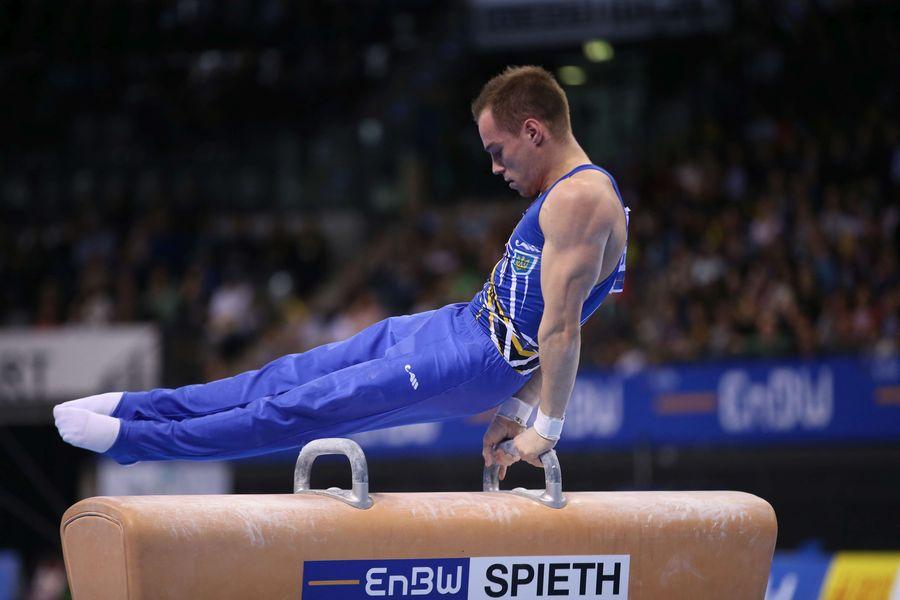 Верняев выиграл в упражнении на коне на этапе Кубка мира / enbw-dtbpokal.de