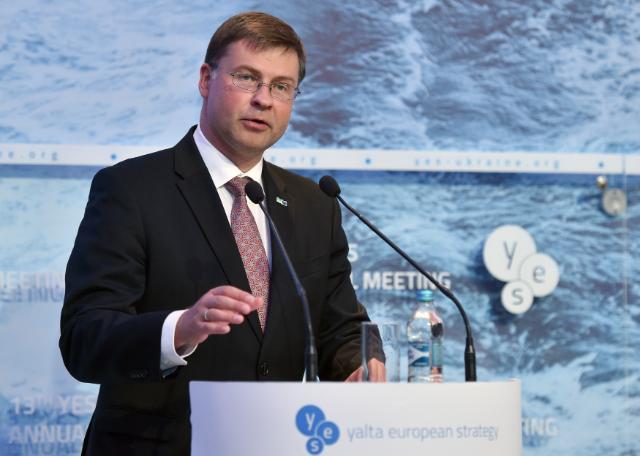 По мнению Валдиса Домбровскиса, Украине необходимо не затягивать с нужными реформами / ec.europa.eu