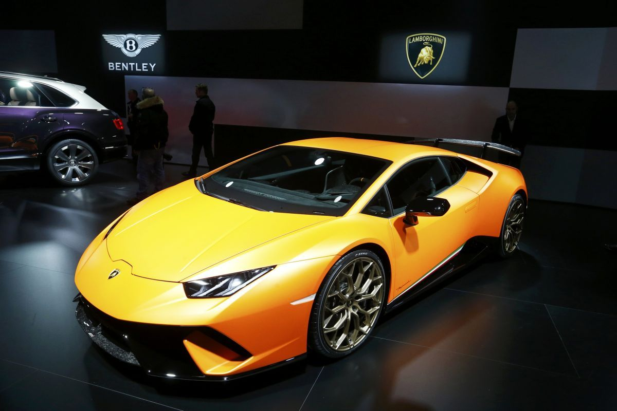 Lamborghini Huracan Performante / REUTERS