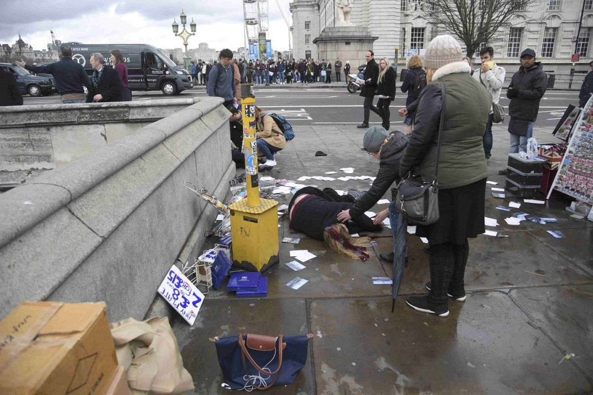 Стрілянина біля парламенту Британії в Лондоні / REUTERS
